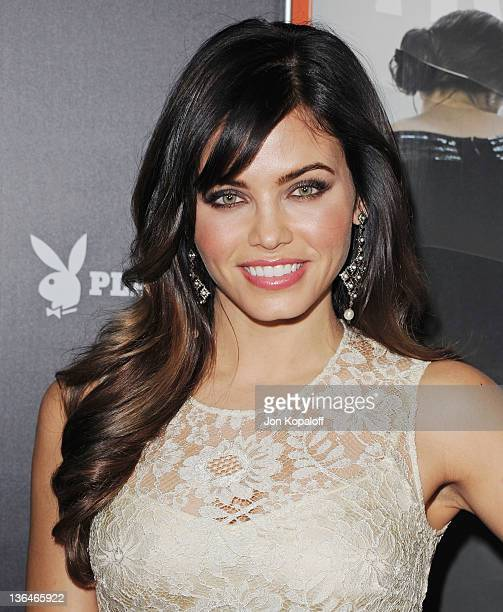 Actress Jenna DewanTatum arrives at the Los Angeles Premiere Haywire at Directors Guild Of America on January 5 2012 in Los Angeles California