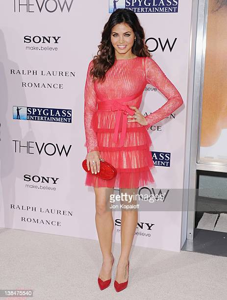 Actress Jenna DewanTatum arrives at the Los Angeles Premiere The Vow at Grauman's Chinese Theatre on February 6 2012 in Hollywood California