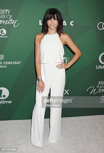 Actress Jenna DewanTatum arrives at the Variety's Power Of Women Luncheon 2016 at the Beverly Wilshire Four Seasons Hotel on October 14 2016 in...