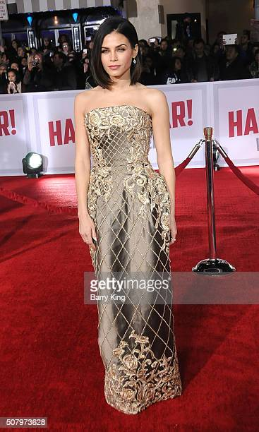 Actress Jenna DewanTatum attends the Premiere of Universal Pictures' 'Hail Caesar' at the Regency Village Theatre on February 1 2015 in Westwood...