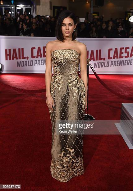 Actress Jenna DewanTatum attends Universal Pictures' 'Hail Caesar' premiere at Regency Village Theatre on February 1 2016 in Westwood California