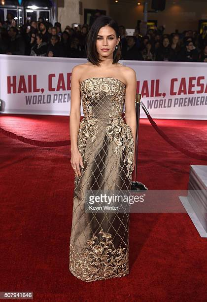 Actress Jenna DewanTatum attends Universal Pictures' Hail Caesar premiere at Regency Village Theatre on February 1 2016 in Westwood California