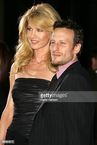 Actress Jenna Elfman and her husband Bodhi Elfman arrive at the 32nd Annual People's Choice Awards at the Shrine Auditorium January 10 2006 in Los...