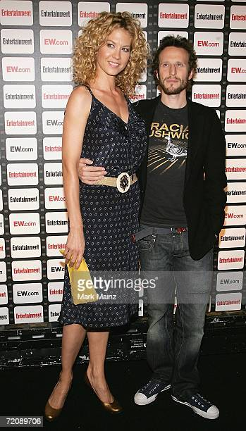 Actress Jenna Elfman and husband Bodhi Elfman attend the Entertainment Weekly Magazine Party Celebrating the 2006 Photo Issue at Quixote Studios on...
