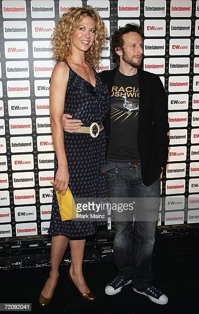Actress Jenna Elfman and husband Bodhi Elfman attends the Entertainment Weekly Magazine Party Celebrating the 2006 Photo Issue at Quixote Studios on...