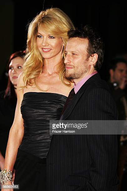 Actress Jenna Elfman and husband/actor Bodhi Elfman arrives at the 32nd Annual People's Choice Awards at the Shrine Auditorium January 10 2006 in Los...