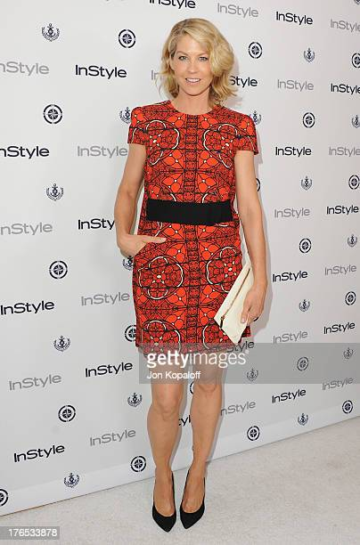 Actress Jenna Elfman arrives at the 13th Annual InStyle Summer Soiree at Mondrian Los Angeles on August 14 2013 in West Hollywood California