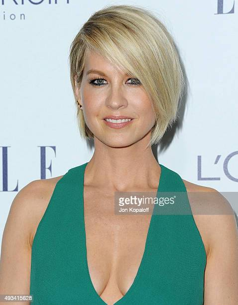 Actress Jenna Elfman arrives at the 22nd Annual ELLE Women In Hollywood Awards at Four Seasons Hotel Los Angeles at Beverly Hills on October 19 2015...