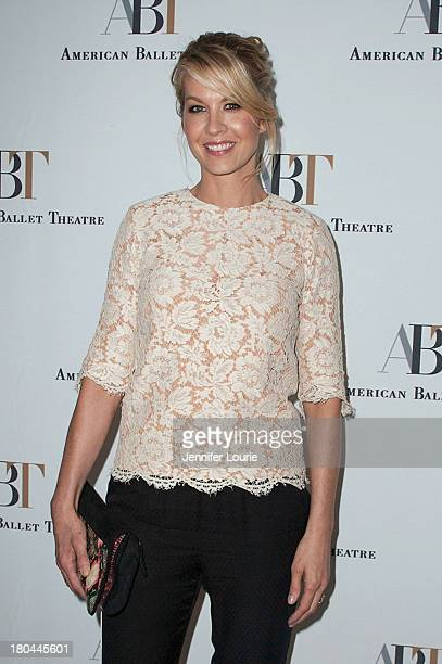 Actress Jenna Elfman arrives at the American Ballet Theatre's Annual Fundraiser 'Stars Under the Stars An Evening in Los Angeles' at private...
