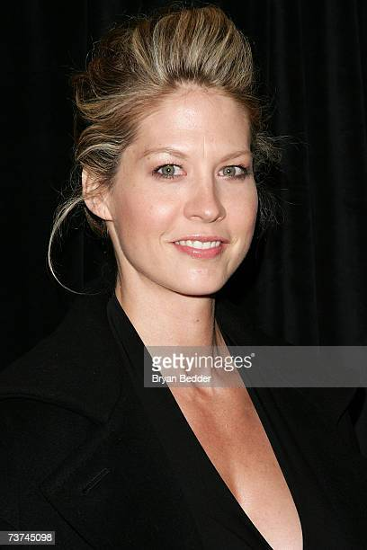 Actress Jenna Elfman arrives at the opening night of The Year Of Magical Thinking at the Booth theater on March 29 2007 in New York City