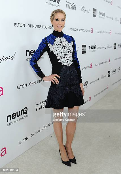 Actress Jenna Elfman attends Chopard at 21st Annual Elton John AIDS Foundation Academy Awards Viewing Party at West Hollywood Park on February 24...