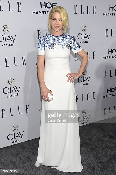 Actress Jenna Elfman attends ELLE's 6th Annual Women In Television Dinner at Sunset Tower Hotel on January 20 2016 in West Hollywood California