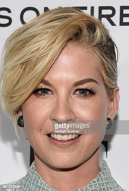 Actress Jenna Elfman attends ELLE's Annual Women in Television Celebration on January 13 2015 at Sunset Tower in West Hollywood California Presented...