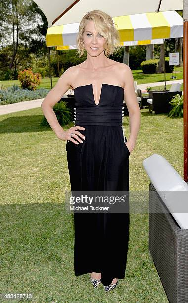 Actress Jenna Elfman attends NBCUniversal's Summer Press Day at Langham Hotel on April 8 2014 in Pasadena California