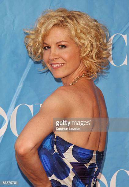 Actress Jenna Elfman attends the 2009 CBS Upfront at Terminal 5 on May 20 2009 in New York City