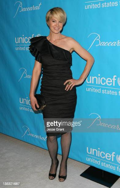 Actress Jenna Elfman attends the 2011 Unicef Ball at the Beverly Wilshire Four Seasons Hotel on December 8 2011 in Beverly Hills United States
