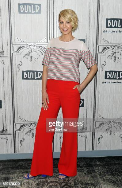 Actress Jenna Elfman attends the Build series to discuss Imaginary Mary at Build Studio on March 28 2017 in New York City
