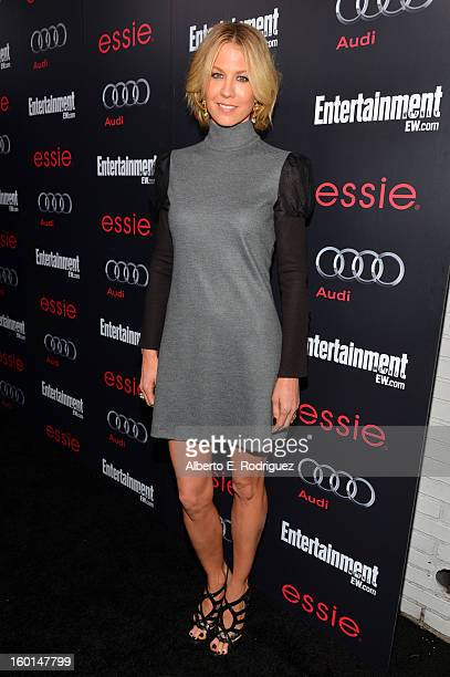 Actress Jenna Elfman attends the Entertainment Weekly PreSAG Party hosted by Essie and Audi held at Chateau Marmont on January 26 2013 in Los Angeles...