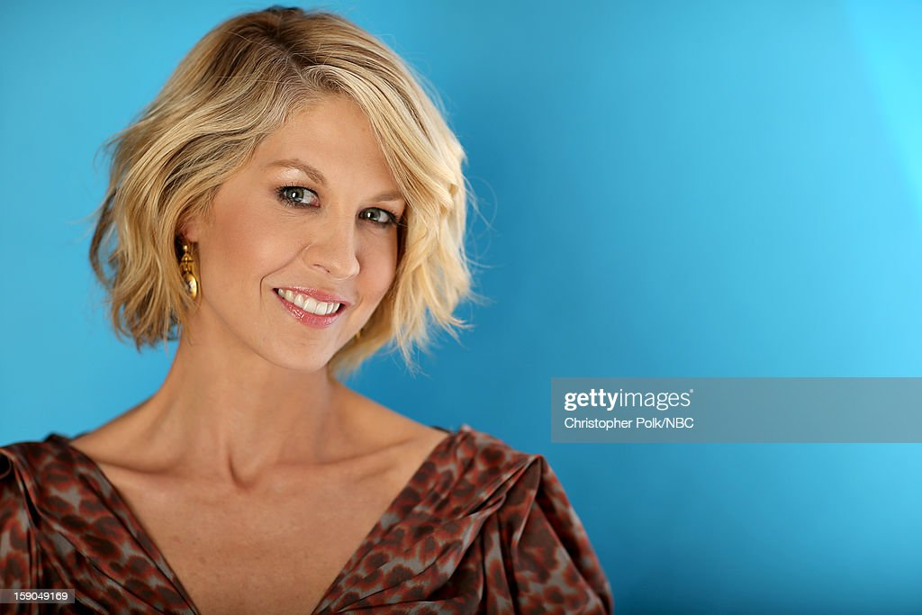 Actress Jenna Elfman attends the NBCUniversal 2013 TCA Winter Press Tour at The Langham Huntington Hotel and Spa on January 6, 2013 in Pasadena, California.