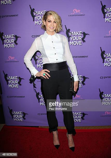 Actress Jenna Elfman attends the premiere of Make Your Move at the Pacific Theaters at the Grove on March 31 2014 in Los Angeles California