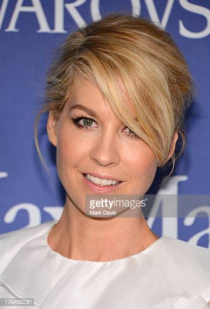 Actress Jenna Elfman attends Women In Film's 2013 Crystal Lucy Awards at The Beverly Hilton Hotel on June 12 2013 in Beverly Hills California