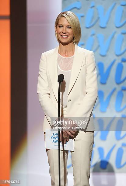 Actress Jenna Elfman onstage at the American Giving Awards presented by Chase held at the Pasadena Civic Auditorium on December 7 2012 in Pasadena...