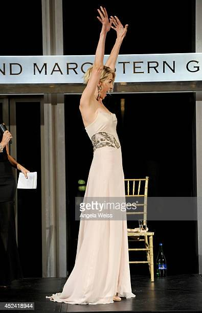 Actress Jenna Elfman onstage during Dizzy Feet Foundation's Celebration Of Dance Gala at The Music Center on July 19 2014 in Los Angeles California