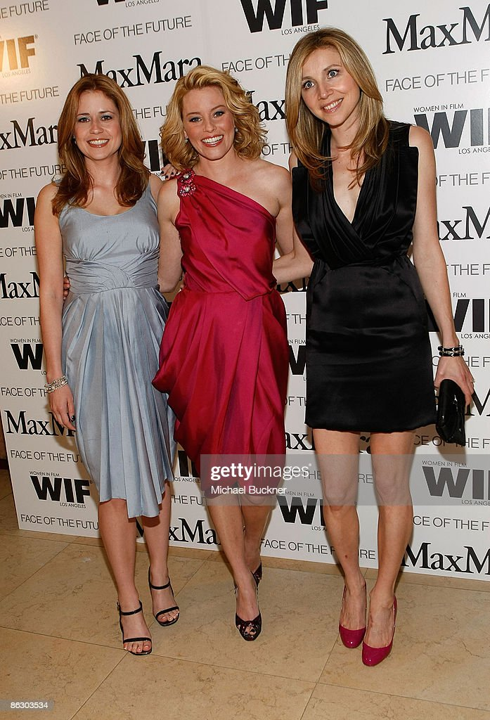"""Elizabeth Banks Honored As Women In Film, Max Mara """"Face of the Future"""" 2009 Cocktail Party : Foto jornalística"""