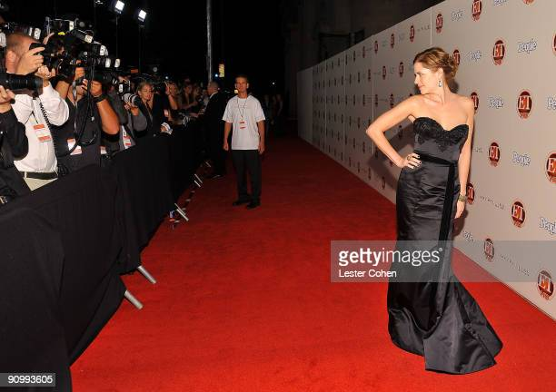 Actress Jenna Fischer arrives at the 13th Annual Entertainment Tonight and People Magazine Emmys After Party at the Vibiana on September 20 2009 in...