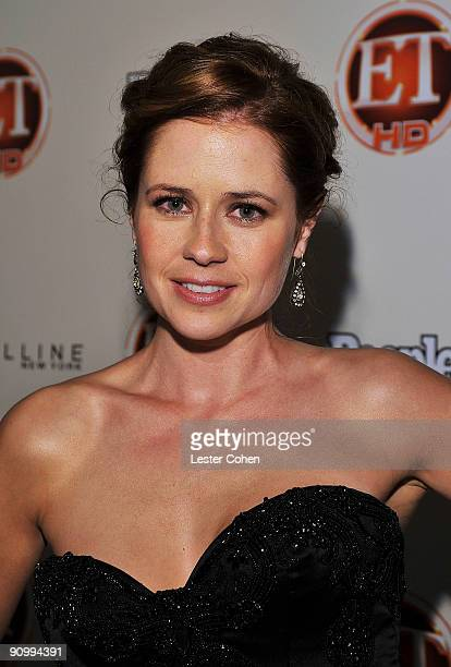 Actress Jenna Fischer arrives at the 13th Annual Entertainment Tonight and People Magazine Emmys After Party at the Vibiana on September 20, 2009 in...