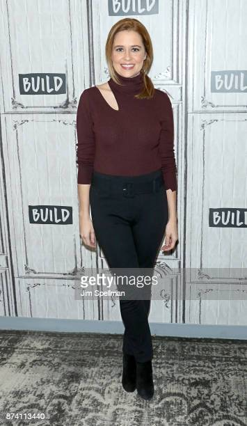 Actress Jenna Fischer attends Build to discuss 'The Actor's Life A Survival Guide' at Build Studio on November 14 2017 in New York City