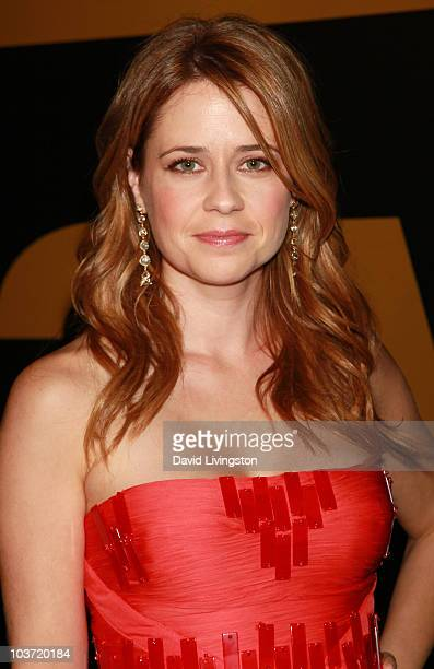 Actress Jenna Fischer attends the AMC After Party for the 62nd Annual EMMY Awards at Soho House on August 29 2010 in West Hollywood California