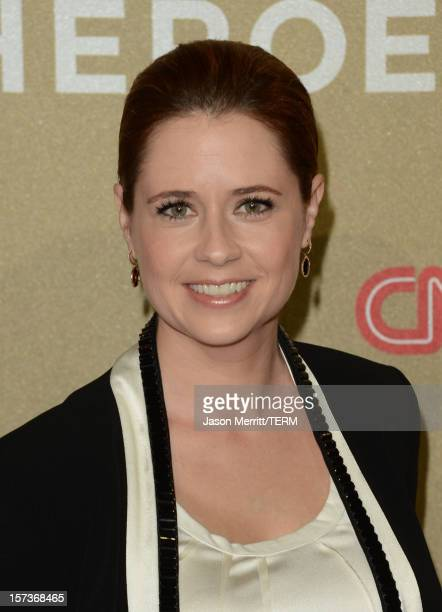 Actress Jenna Fischer attends the CNN Heroes An All Star Tribute at The Shrine Auditorium on December 2 2012 in Los Angeles California...