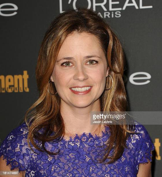Actress Jenna Fischer attends the Entertainment Weekly preEmmy party at Fig Olive Melrose Place on September 20 2013 in West Hollywood California