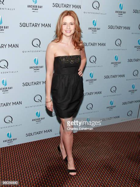 Actress Jenna Fischer attends the premiere of 'Solitary Man' at Cinema 2 on May 11 2010 in New York City