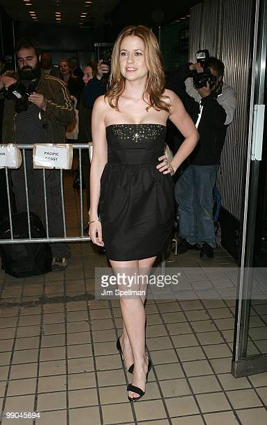 Actress Jenna Fischer attends the premiere of Solitary Man at Cinema 2 on May 11 2010 in New York City