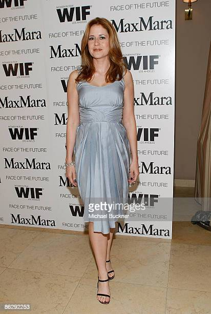 Actress Jenna Fischer attends the Women in Film MaxMara Face of the Future 2009 Cocktail Party at the Sunset Tower Hotel on April 29 2009 in West...