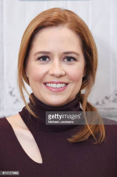 Actress Jenna Fischer visits Build Studio to discuss her book 'The Actor's Life A Survival Guide' on November 14 2017 in New York City