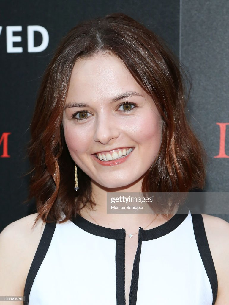 Actress Jenna Gavigan attends the 'Deliver Us From Evil' screening hosted by Screen Gems & Jerry Bruckheimer Films with The Cinema Society at SVA Theater on June 24, 2014 in New York City.