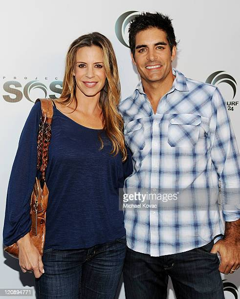 Actress Jenna Gering and husband actor Galen Gering attend the Project Save Our Surf presents Stars For The Surf Charity Event at Fred Segal on...