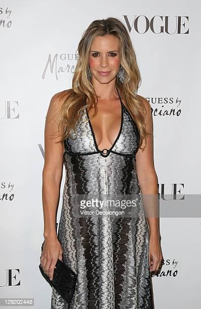 Actress Jenna Gering arrives at the GUESS By Marciano VOGUE 2011 Holiday Collection Debut at Mr C Beverly Hills on October 13 2011 in Beverly Hills...