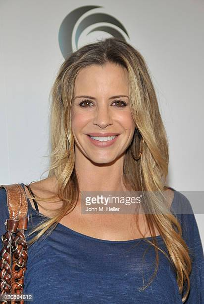 Actress Jenna Gering attends actress Tanna Frederick's birthday party at Fred Segal's on August 11 2011 in Santa Monica California