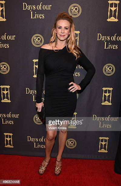 Actress Jenna Gering attends the Days Of Our Lives' 50th Anniversary Celebration at Hollywood Palladium on November 7 2015 in Los Angeles California
