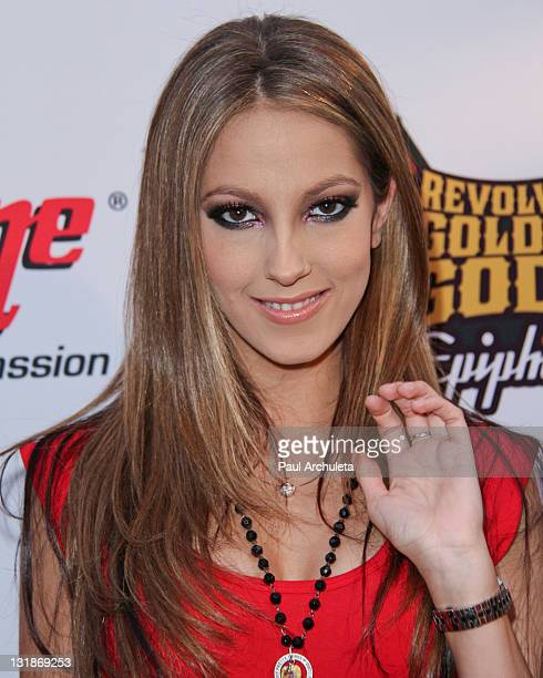 Actress Jenna Haze arrives at the 3rd annual Revolver Golden God Awards at Club Nokia on April 20 2011 in Los Angeles California