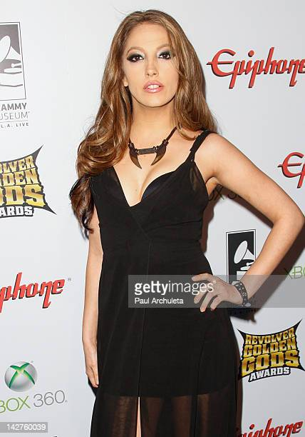 Actress Jenna Haze attends the 4th Annual Revolver Golden God Awards at Club Nokia on April 11, 2012 in Los Angeles, California.