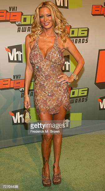 Actress Jenna Jameson arrives to the VH1 Big in '06 Awards held at Sony Studios on December 2 2006 in Culver City California
