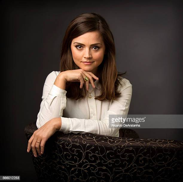 Actress Jenna Louise Coleman photographed in the Los Angeles Times studio in Los Angeles California on Tuesday March 20 2013 Coleman plays the...