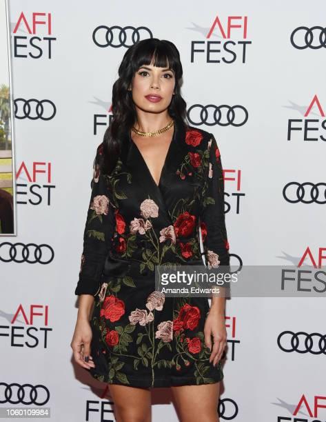 Actress Jenna Lyng Adams arrives at the AFI FEST 2018 Presented By Audi The Kominsky Method World Premiere Gala Screening at TCL Chinese Theatre on...