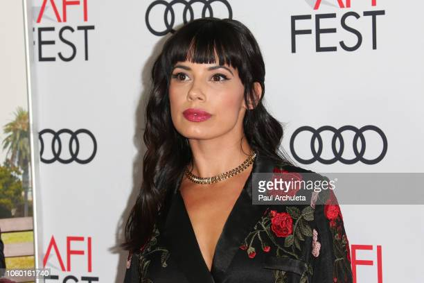 Actress Jenna Lyng Adams attends the 2018 AFI FEST world premiere screening of The Kominsky Method at TCL Chinese Theatre on November 10 2018 in...