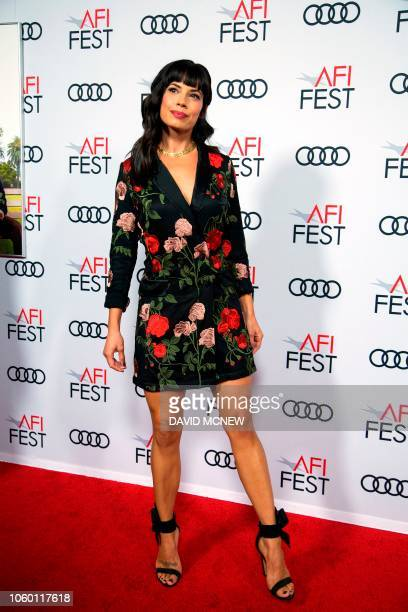 Actress Jenna Lyng Adams attends the AFI Fest world premiere of The Kominsky Method on November 10 2018 in the Hollywood